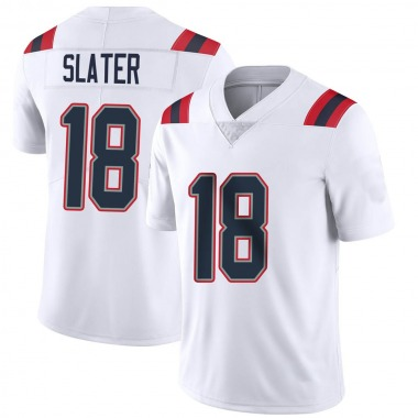Men's Nike New England Patriots Matthew Slater Vapor Untouchable Jersey - White Limited