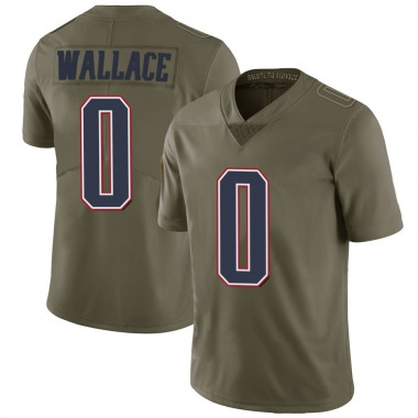 Youth Nike New England Patriots Courtney Wallace 2017 Salute to Service Jersey - Green Limited