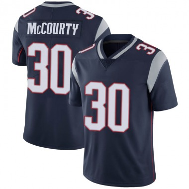 Youth Nike New England Patriots Jason McCourty 100th Vapor Jersey - Navy Limited